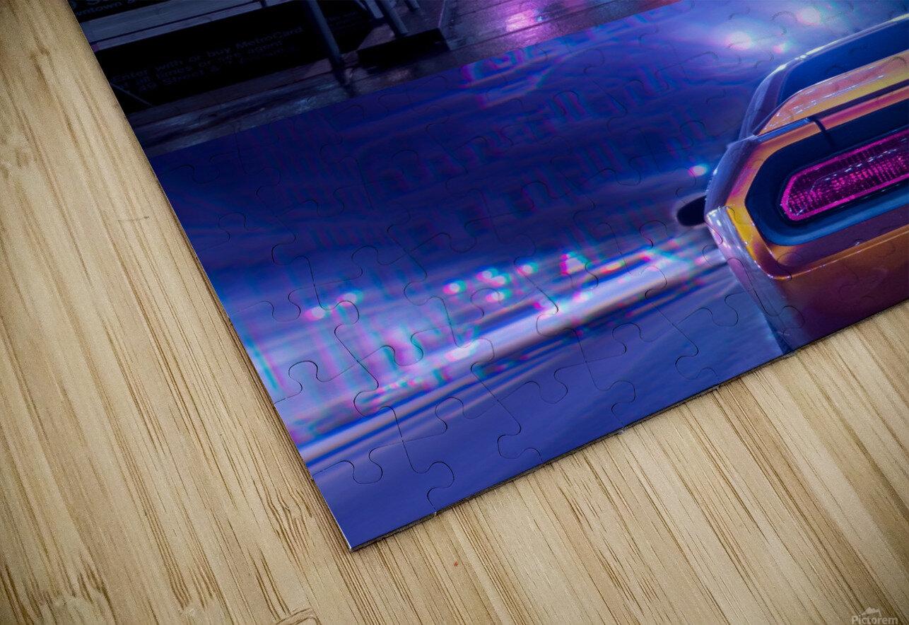 Oblivion City HD Sublimation Metal print