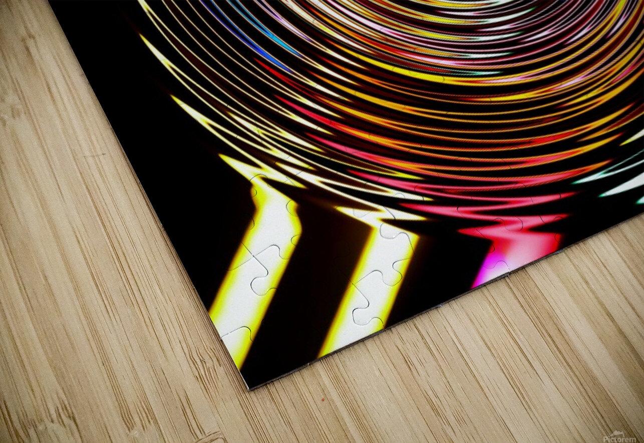 LUMI CIRCLE 001 HD Sublimation Metal print