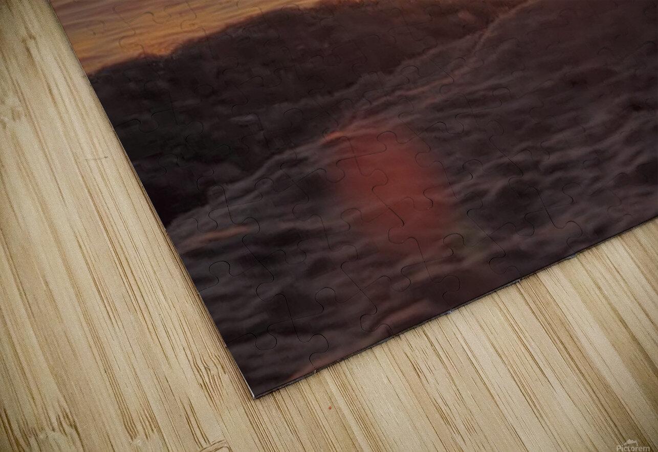 A Splash of Sunrise HD Sublimation Metal print