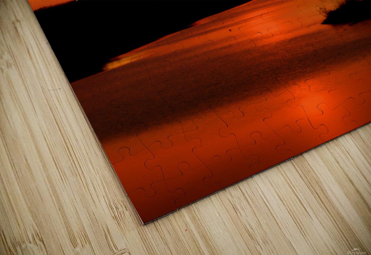 Big Ditch Sunset HD Sublimation Metal print