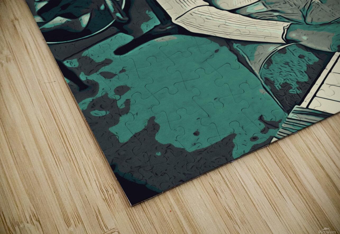 Stevie_Wonder_11 HD Sublimation Metal print