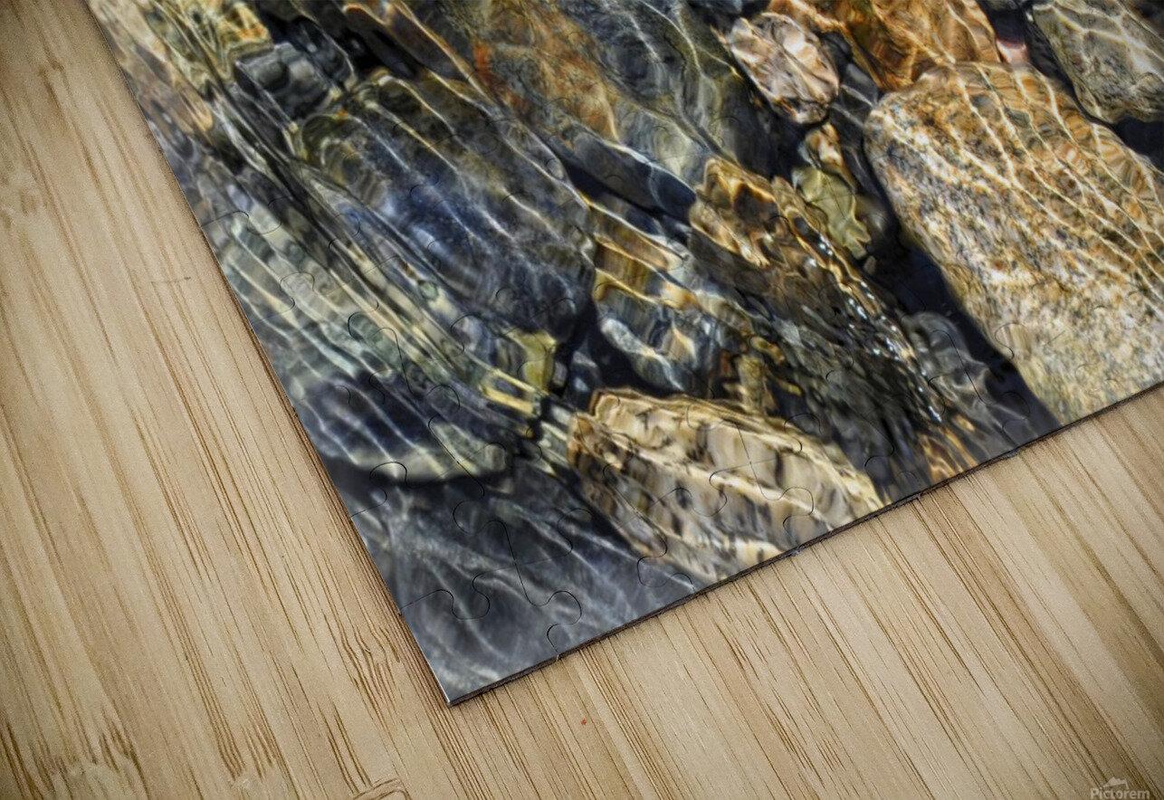 River Rocks HD Sublimation Metal print