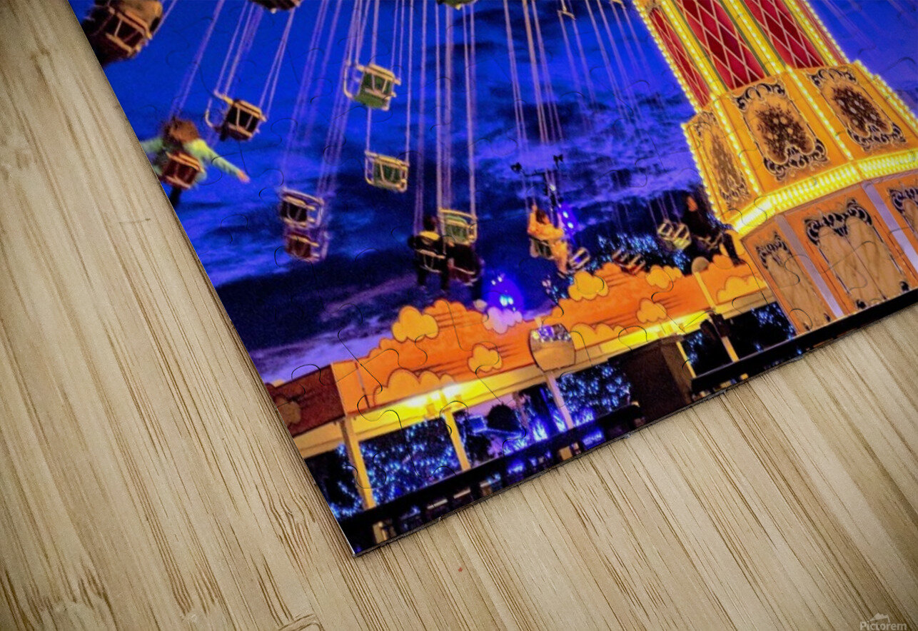 Carnival III HD Sublimation Metal print