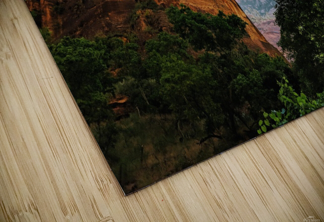 Zion Catching Rays HD Sublimation Metal print