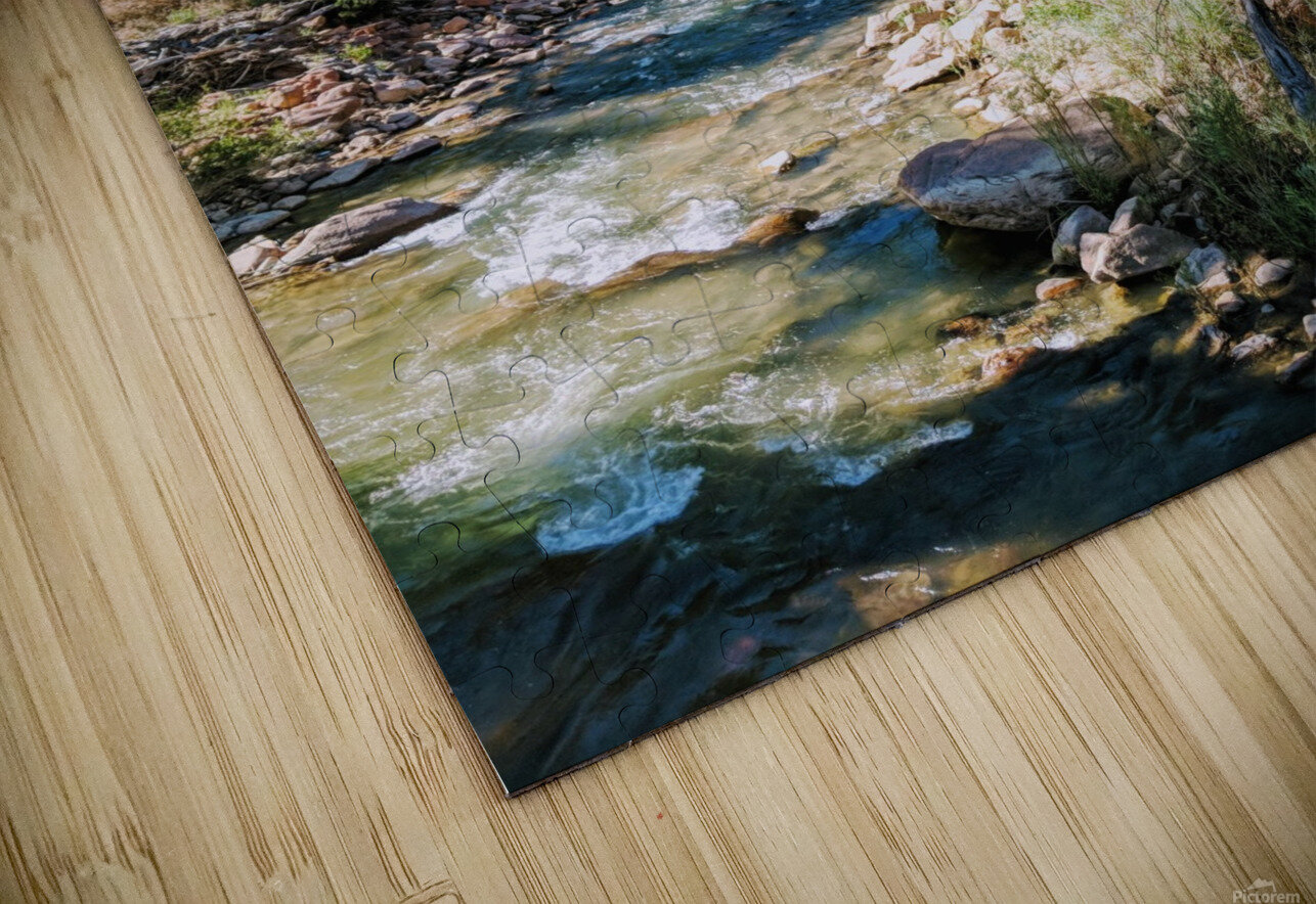 Zion in Morning Light HD Sublimation Metal print
