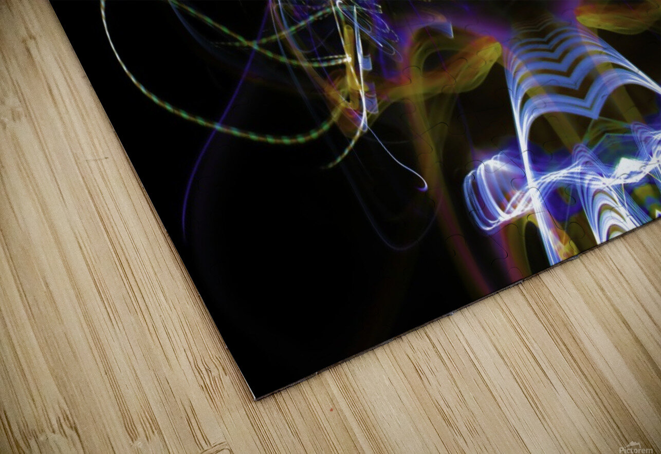 MOVING WINDOW HD Sublimation Metal print