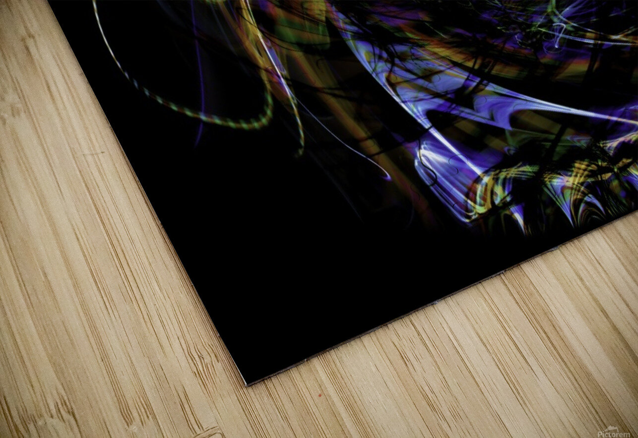 FLOWER OF FLUX HD Sublimation Metal print