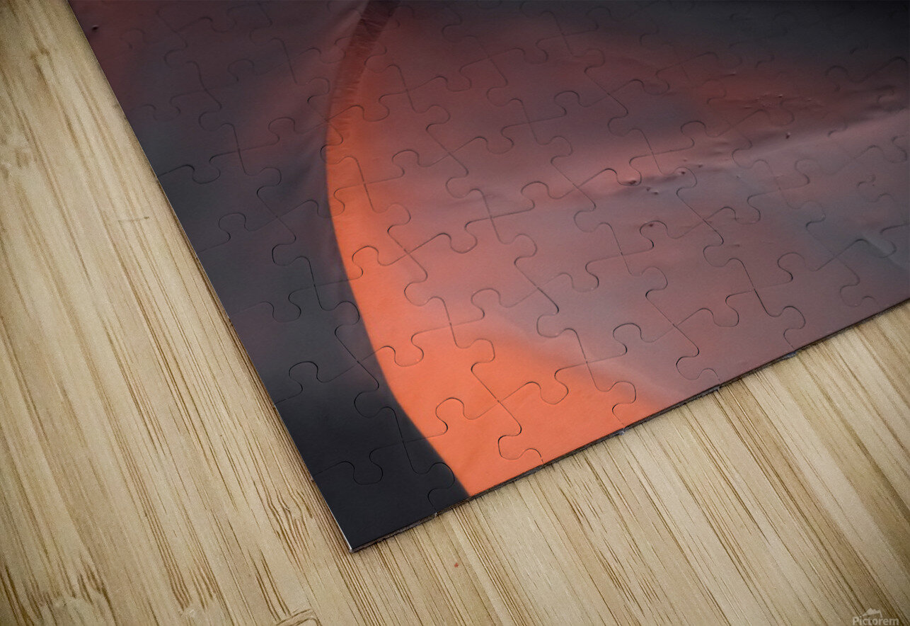 Sand hill HD Sublimation Metal print