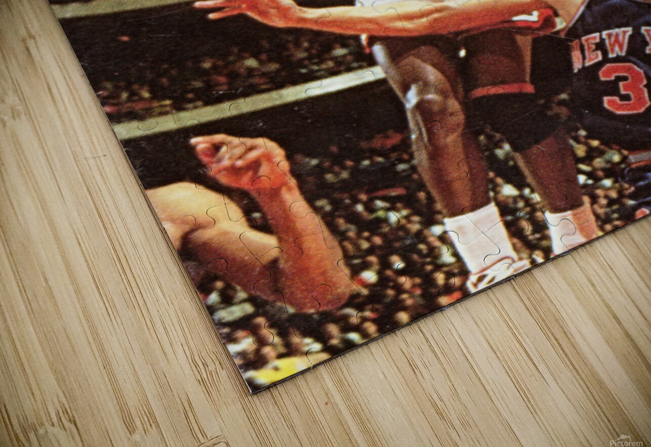 1987 Chicago Bulls Michael Jordan Art HD Sublimation Metal print