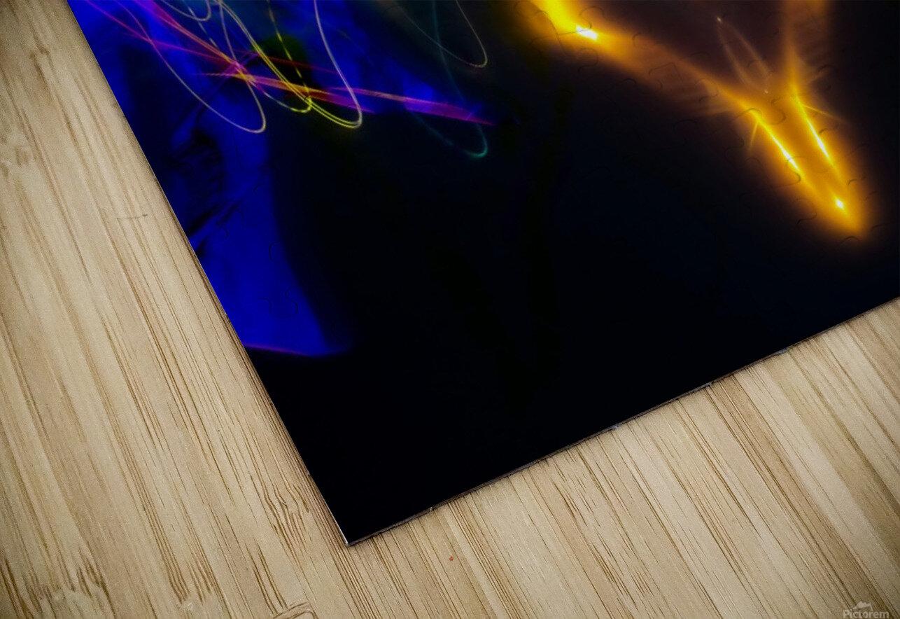 OWL MESSENGER HD Sublimation Metal print