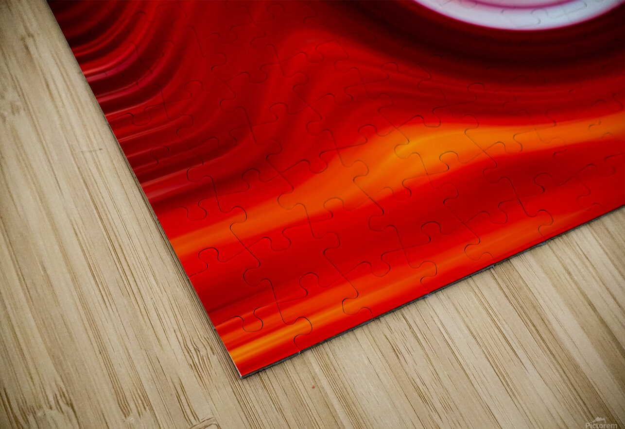 FIRE WAVE HD Sublimation Metal print