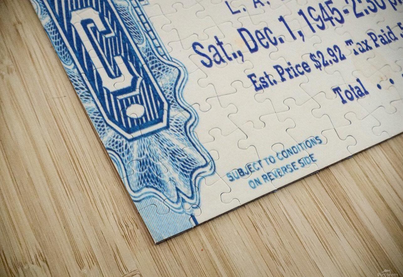 1945 USC vs. UCLA Game 2 HD Sublimation Metal print