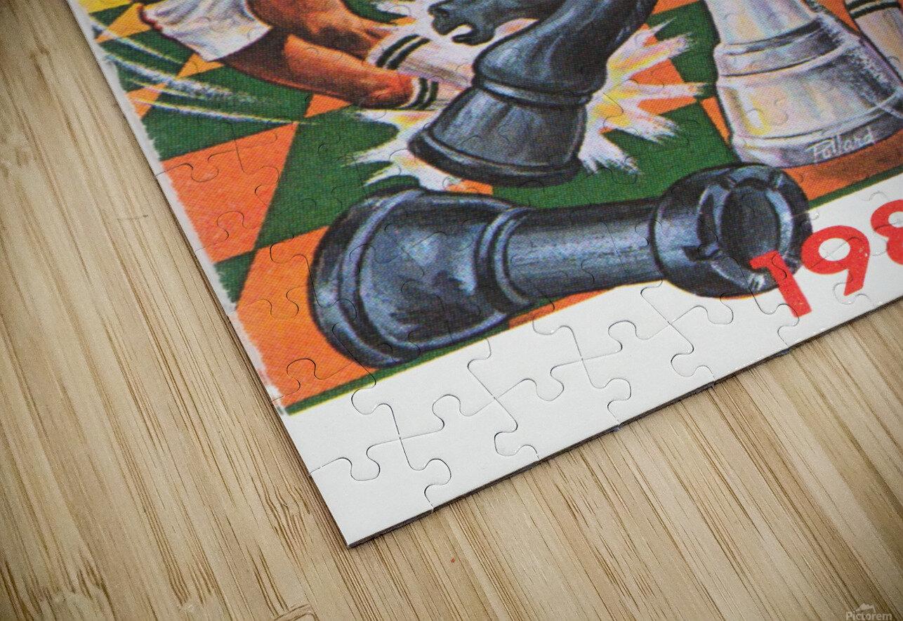 1983 Milwaukee Bucks  HD Sublimation Metal print