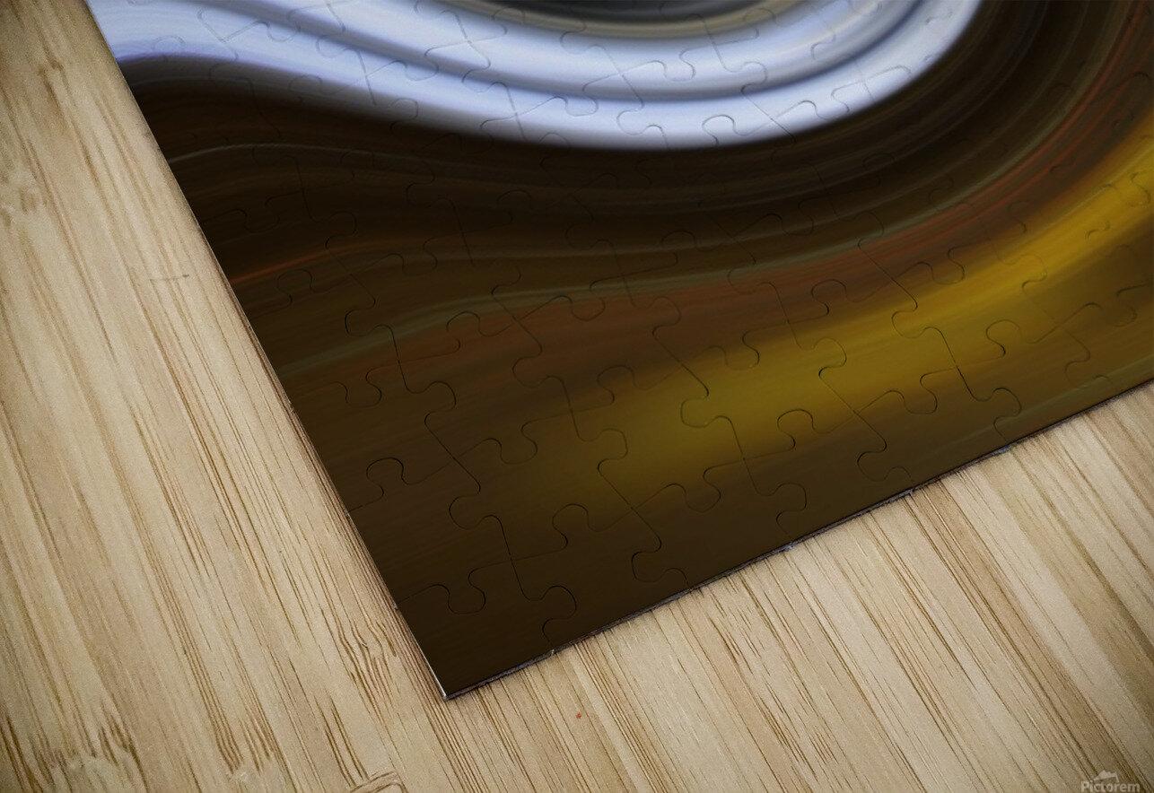 LAVAWAVE HD Sublimation Metal print