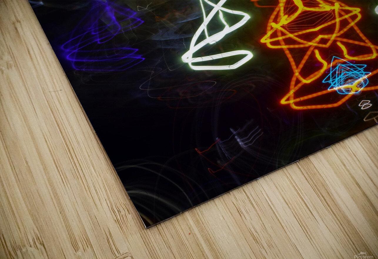 THE PLAN HD Sublimation Metal print