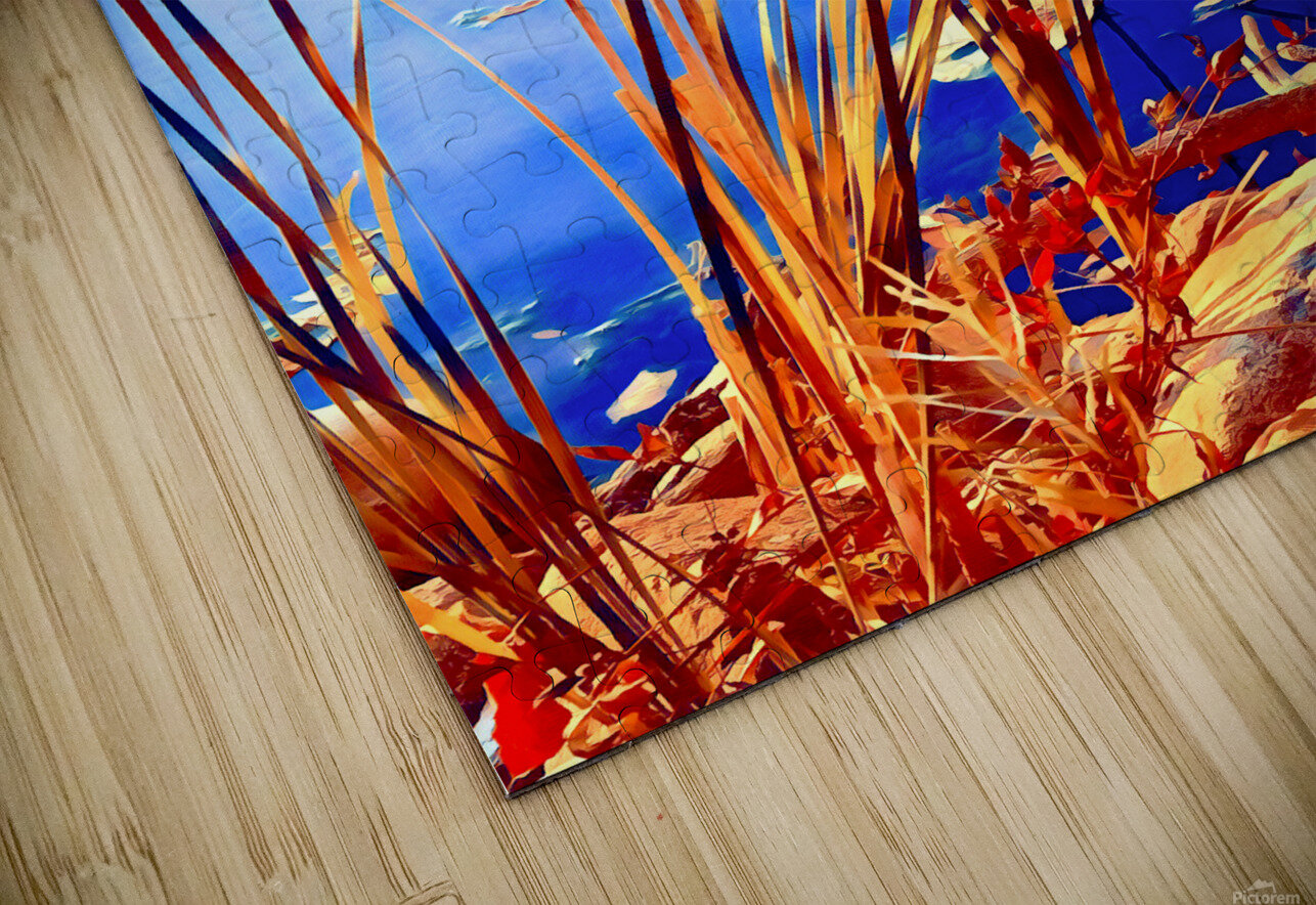 Reed Grasses  HD Sublimation Metal print