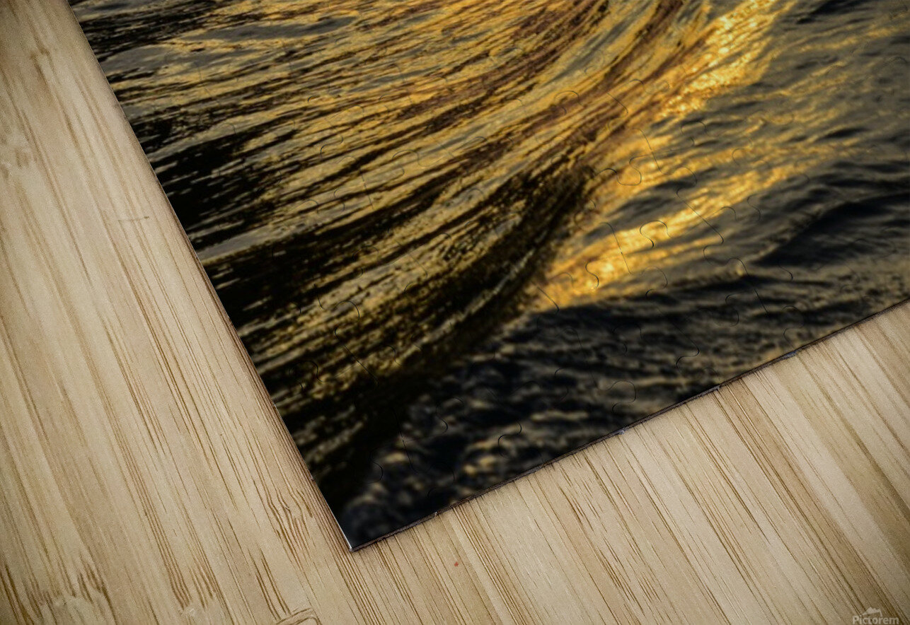 Lake Erie waves 9 HD Sublimation Metal print