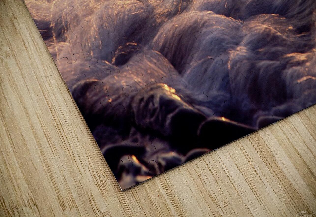 Lake Erie waves 6 HD Sublimation Metal print
