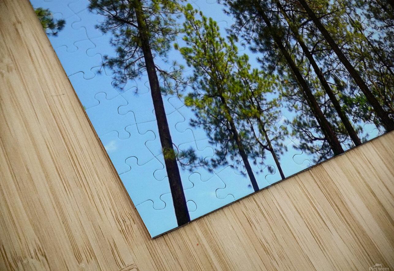 Blue Sky Impression de sublimation métal HD