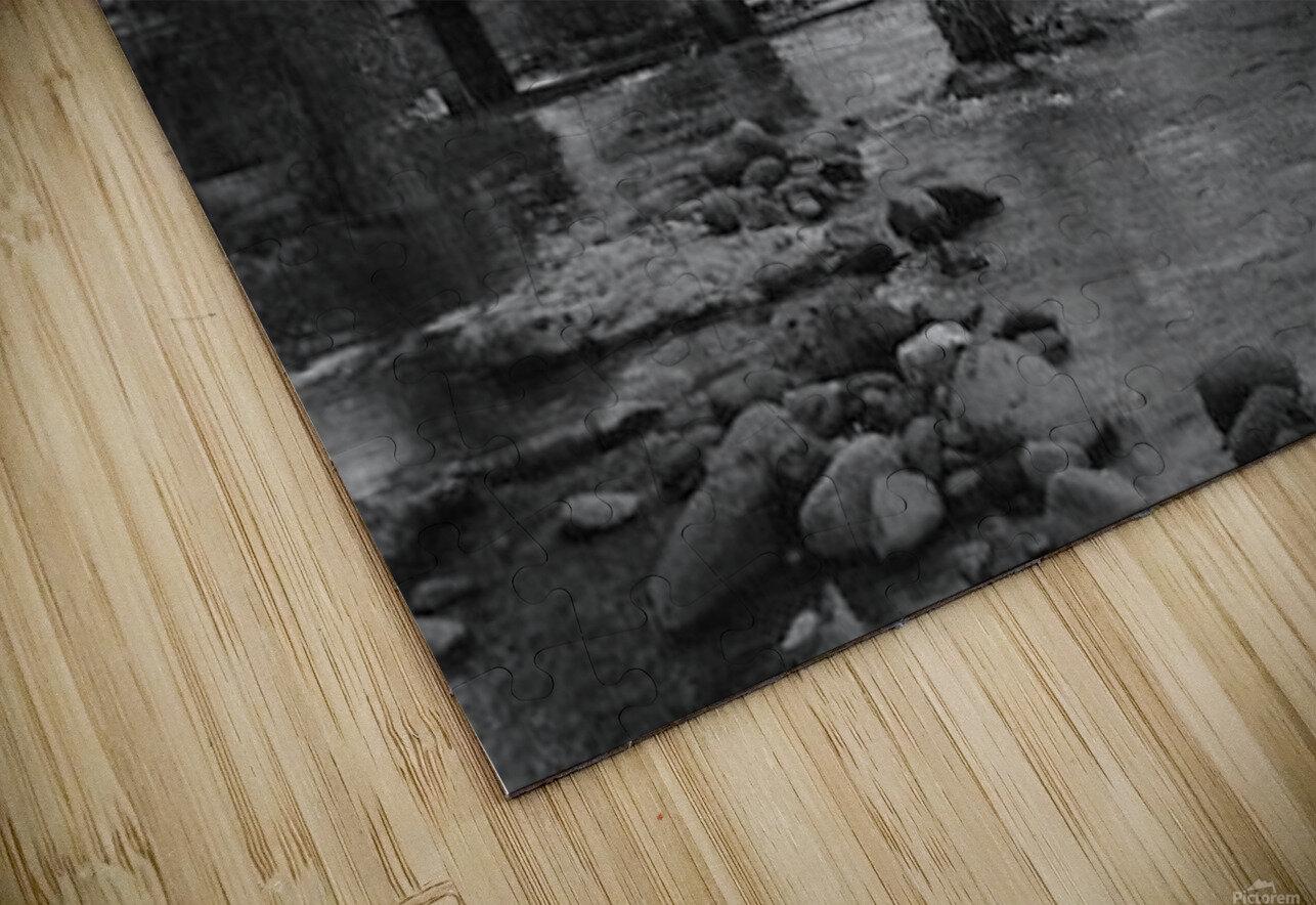 Old Railroad HD Sublimation Metal print