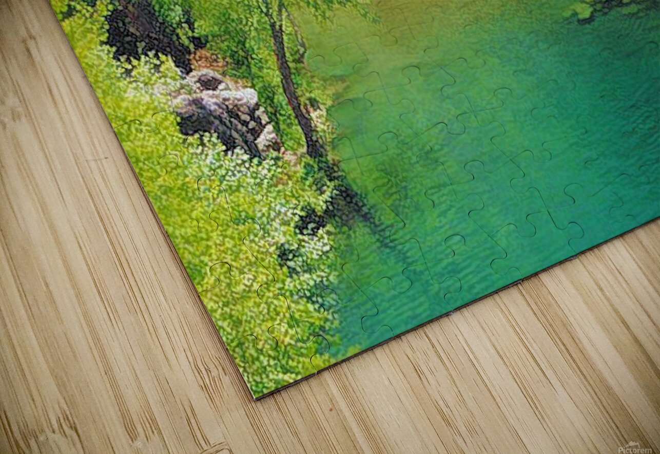 Pond HD Sublimation Metal print