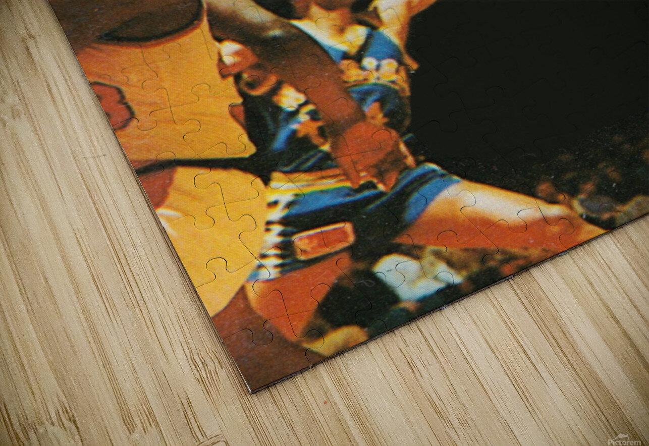 1981 Portland Trailblazers Art HD Sublimation Metal print