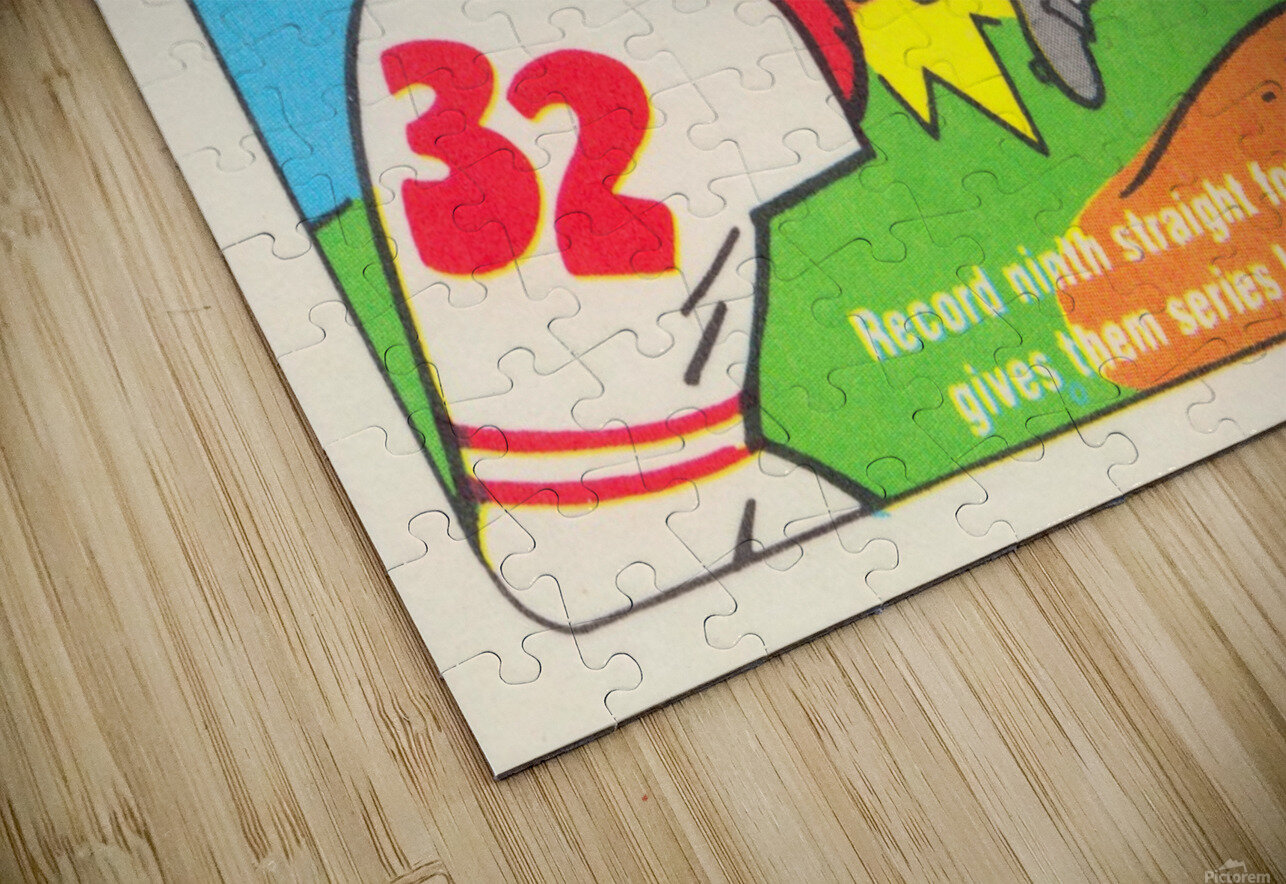 1980 Baseball All Star Game Art HD Sublimation Metal print
