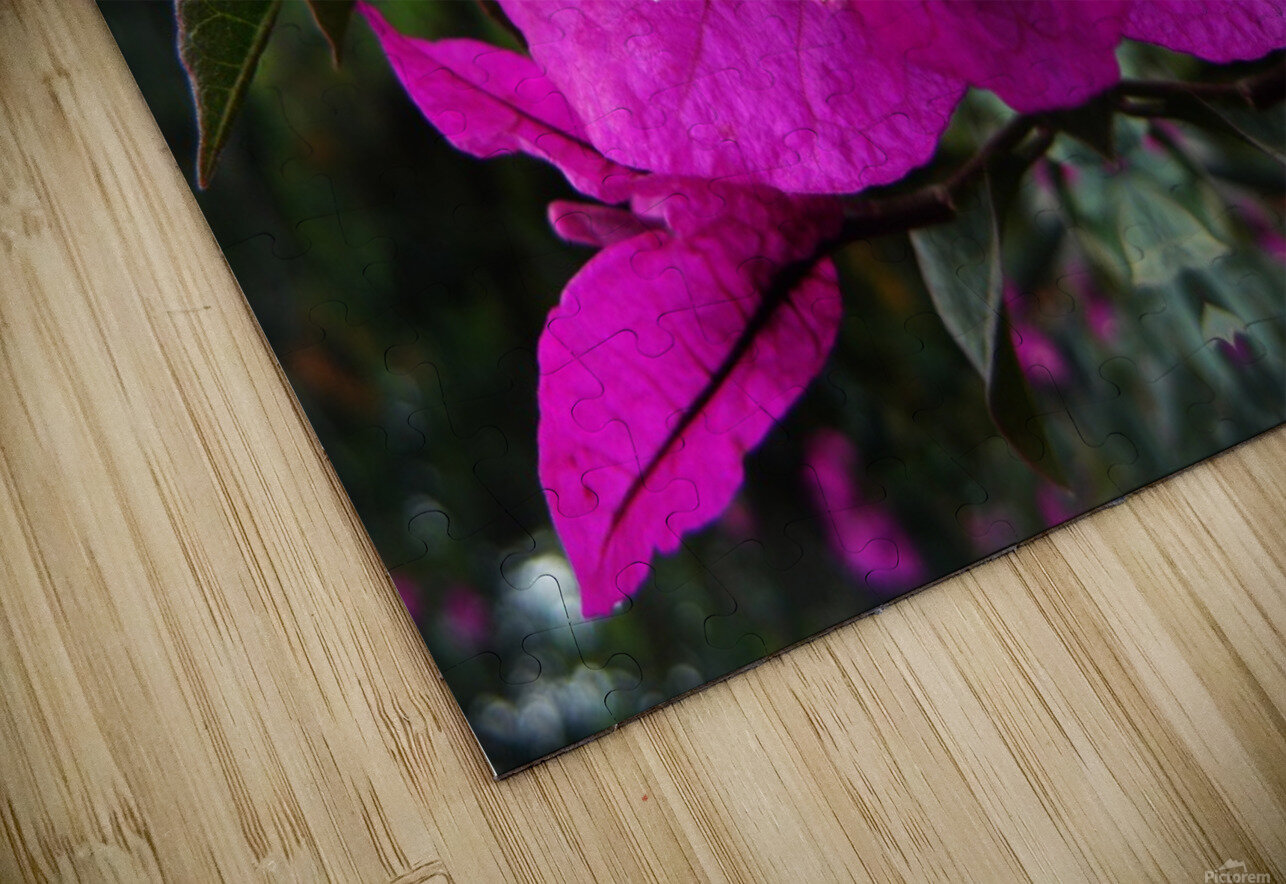flower90 HD Sublimation Metal print