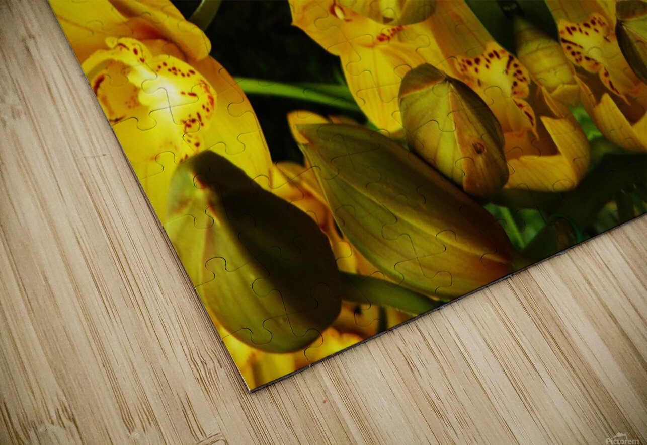 flower65 HD Sublimation Metal print