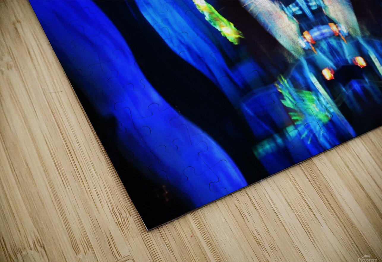 Lights11 HD Sublimation Metal print