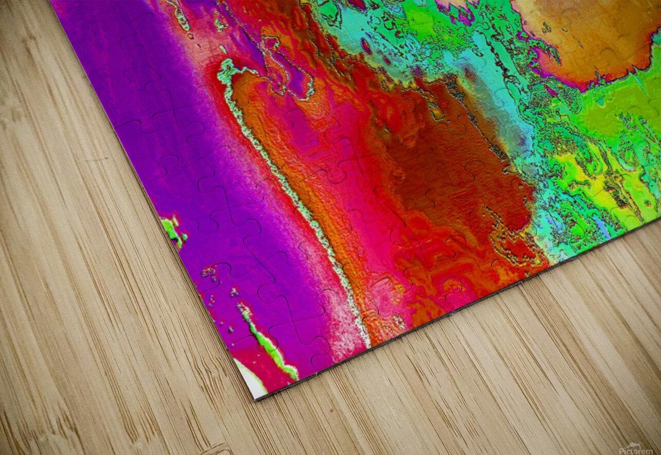 Sacred colors HD Sublimation Metal print