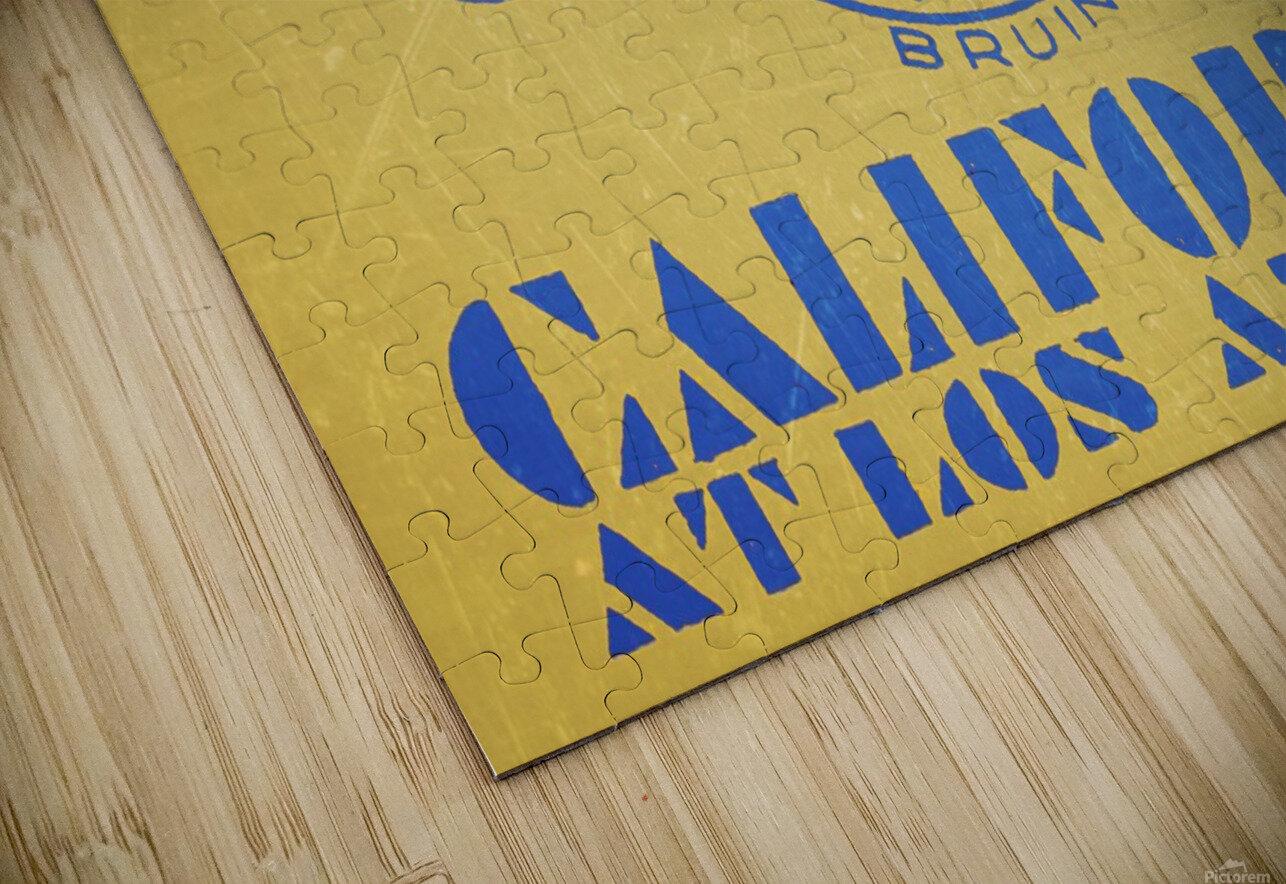 1938 California at Los Angeles HD Sublimation Metal print