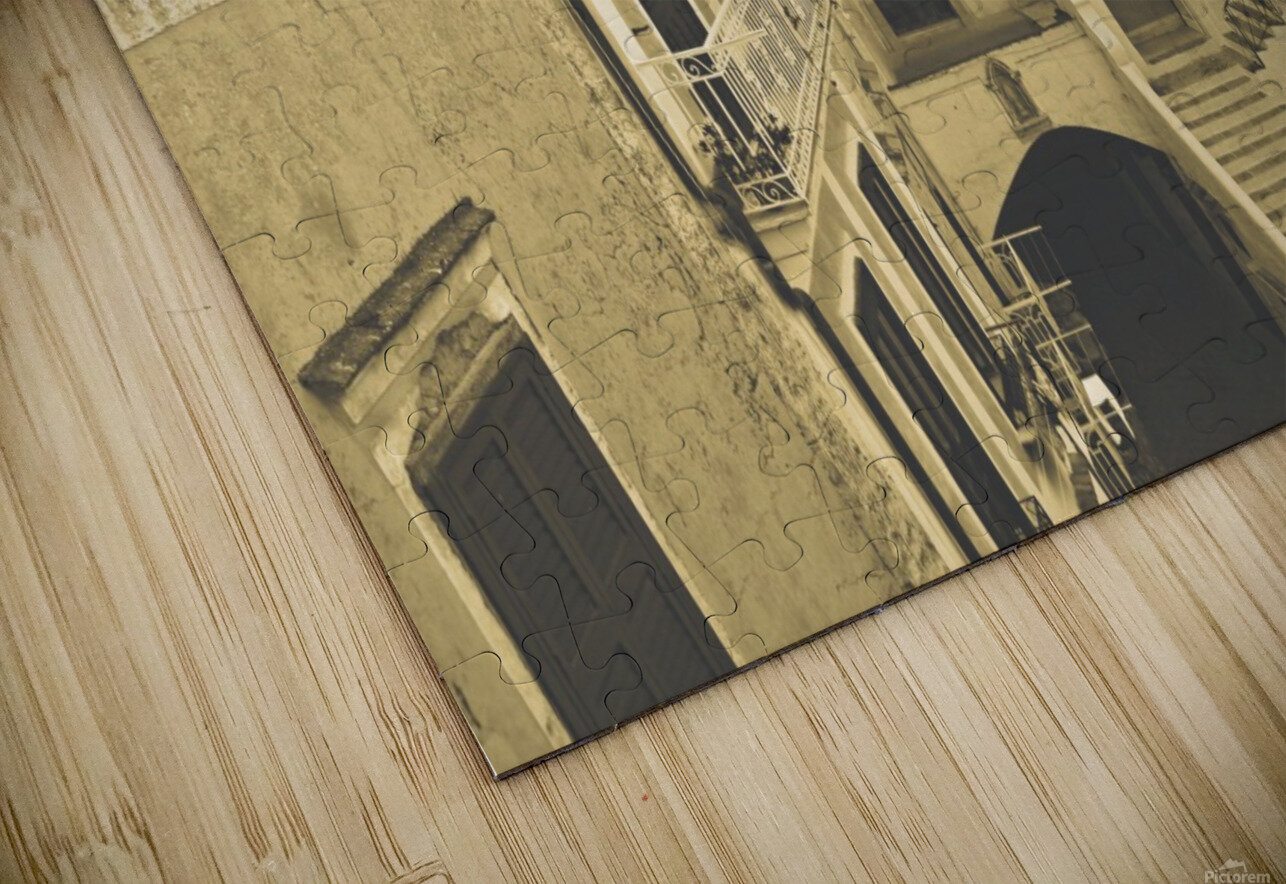 Vintage Style - The village HD Sublimation Metal print