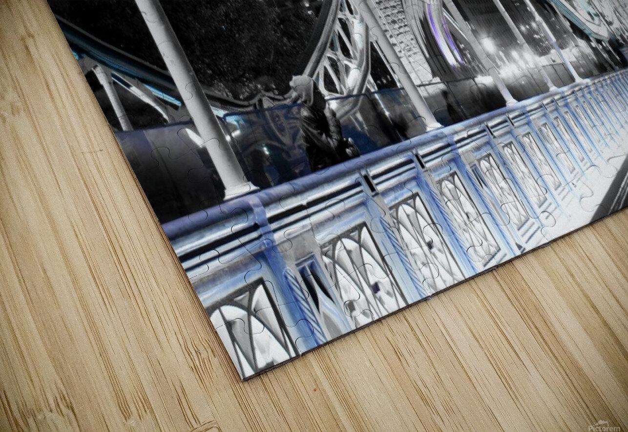 Tower Bridge HD Sublimation Metal print
