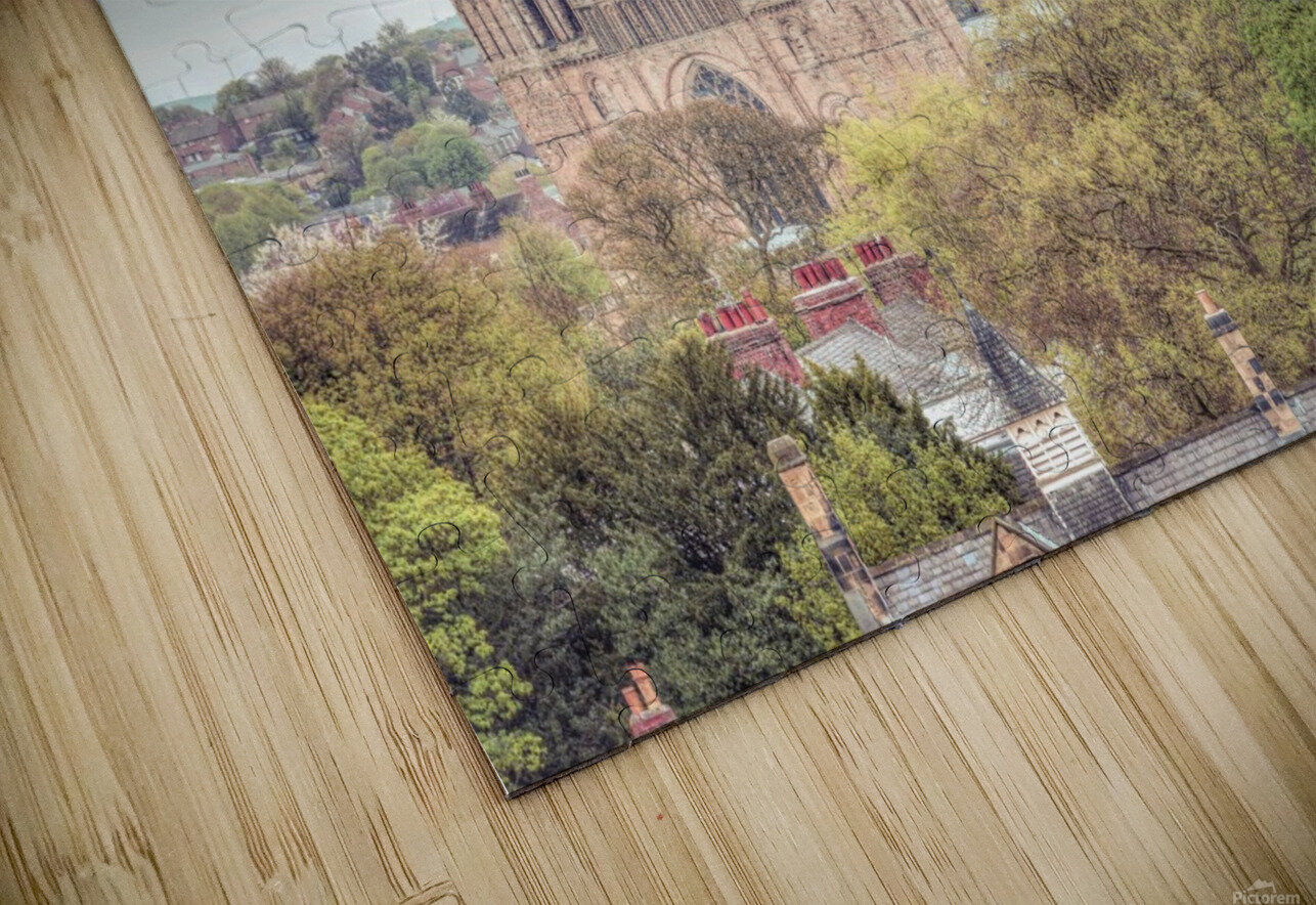 Durham Cathedral HD Sublimation Metal print