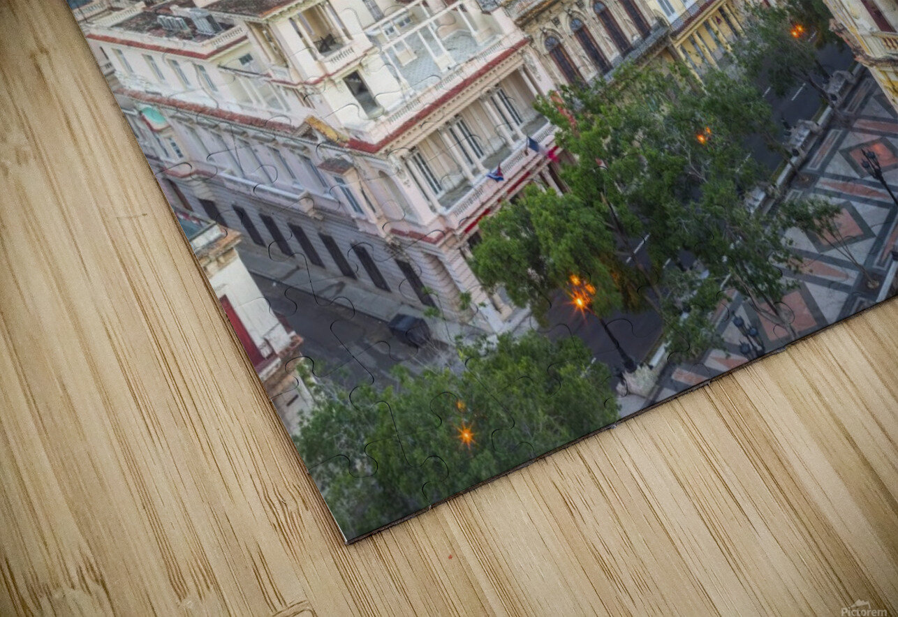 Havana from above HD Sublimation Metal print