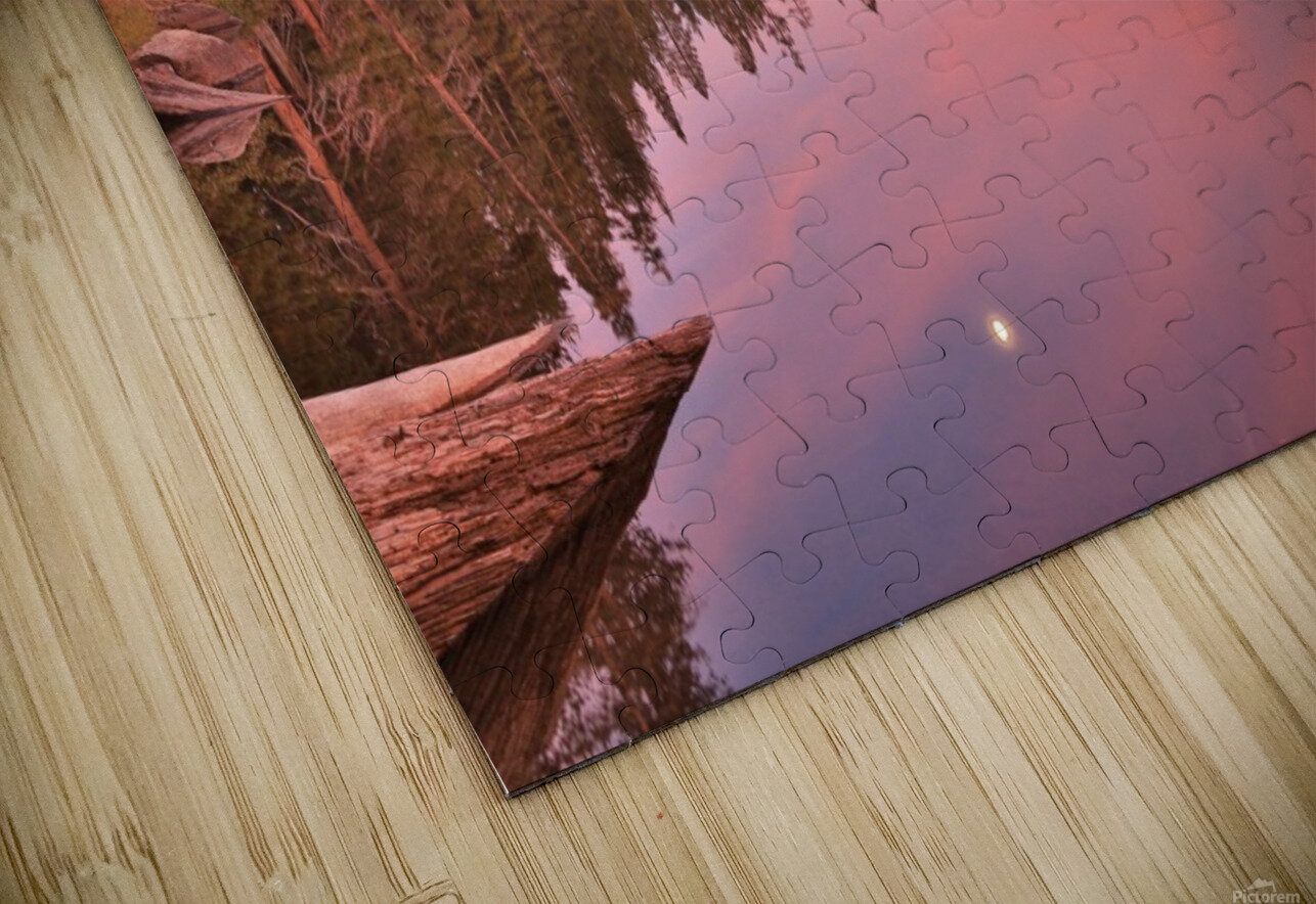 Azalea Sunset HD Sublimation Metal print