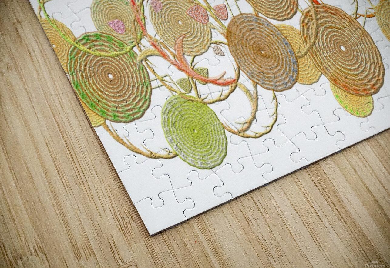 Lace HD Sublimation Metal print