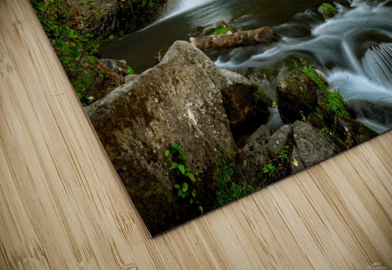 Native Flow HD Sublimation Metal print