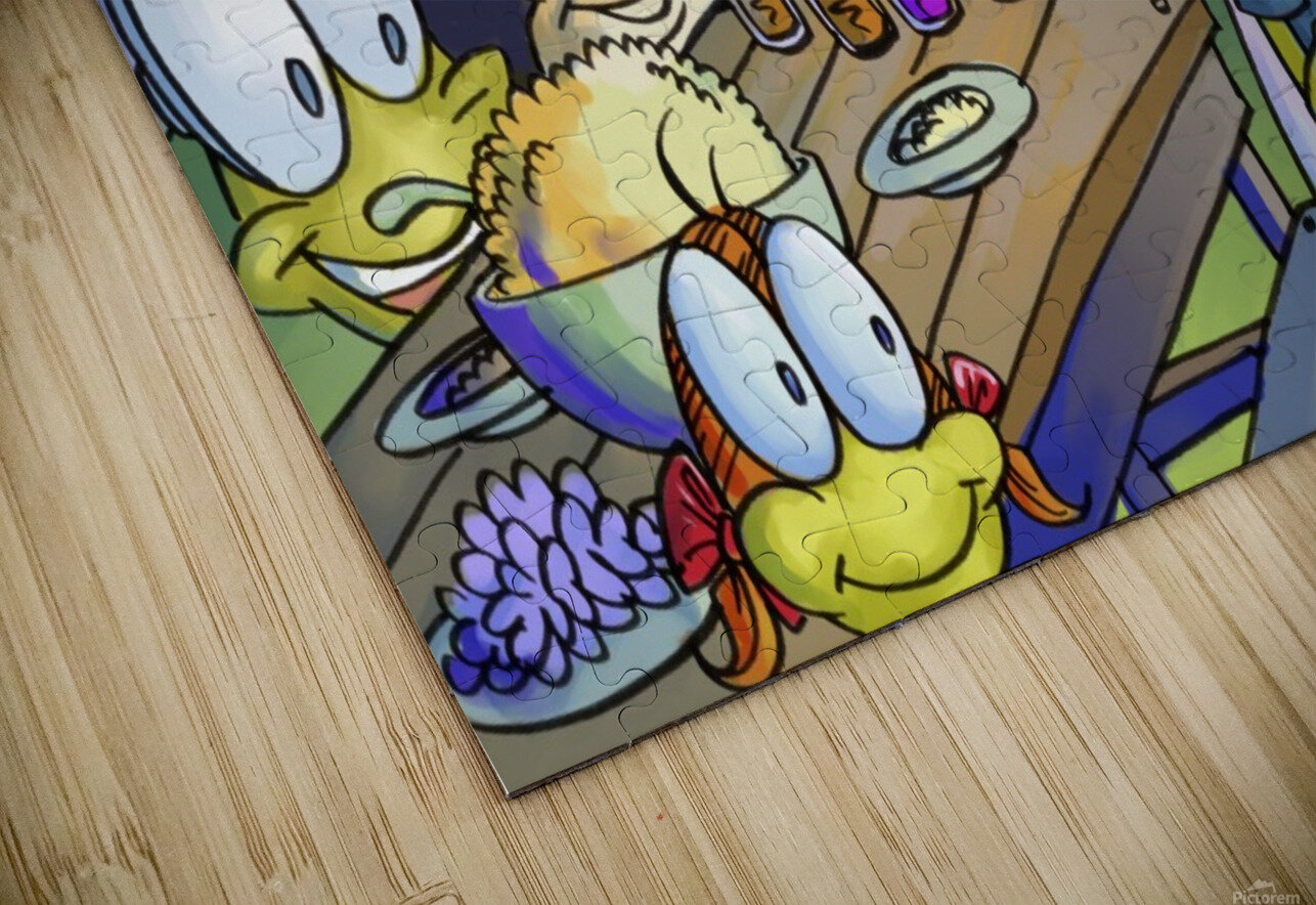 A Dream of Summer - Family HD Sublimation Metal print