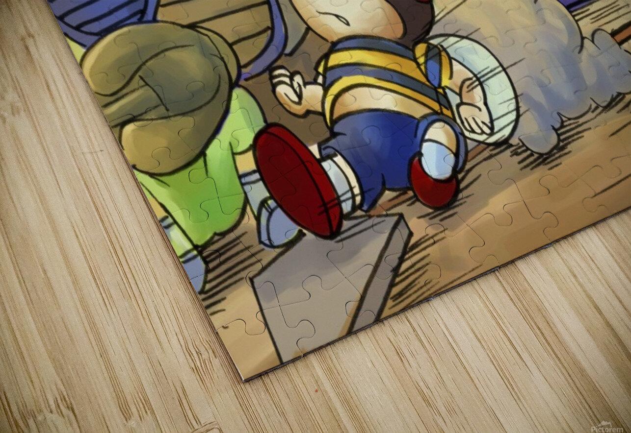Home base slide HD Sublimation Metal print