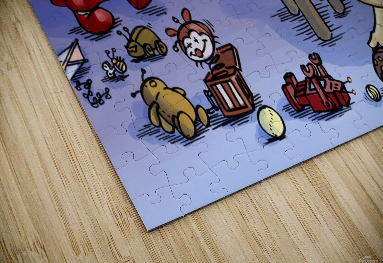 Toy Parade - Bugville Critters HD Sublimation Metal print