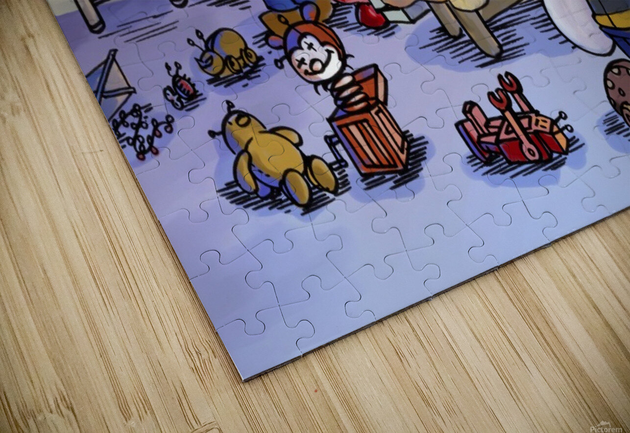 Toy Parade - marching HD Sublimation Metal print
