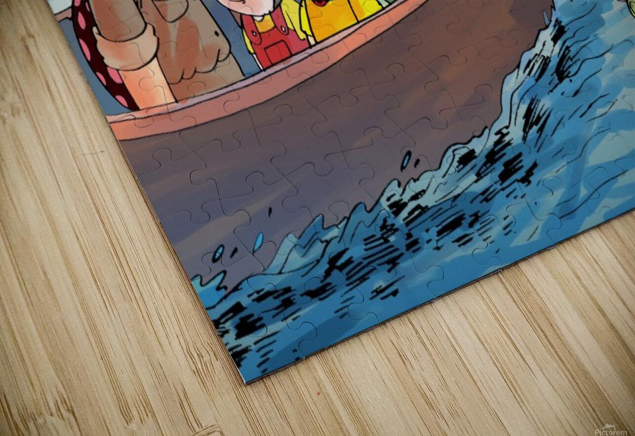 Summer Camp - Sailing HD Sublimation Metal print