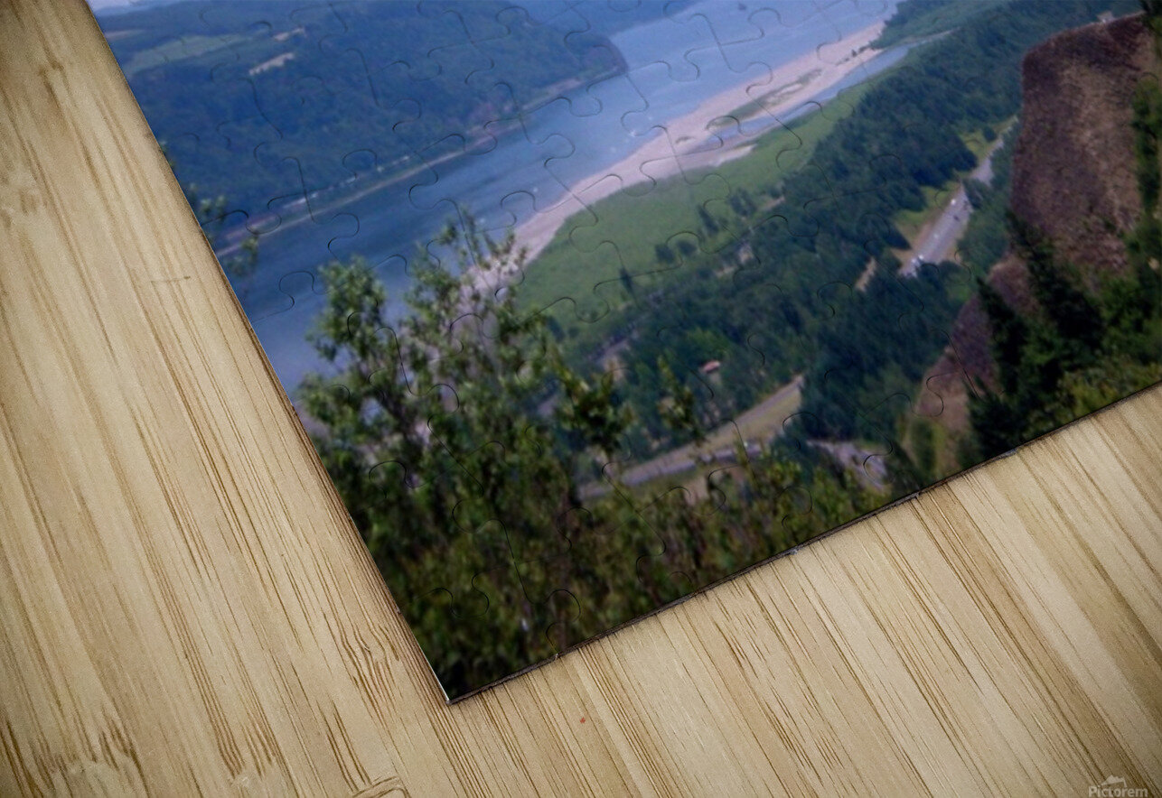 The Gorge   Columbia River HD Sublimation Metal print