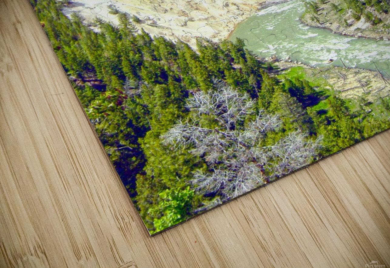 Wild Yellowstone HD Sublimation Metal print