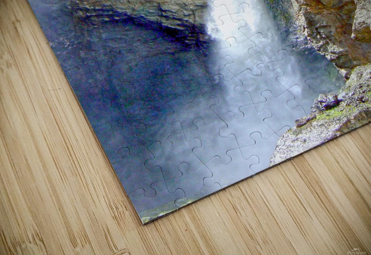 Yellowstone Waterfall - Grand Canyon of the Yellowstone River - Yellowstone National Park HD Sublimation Metal print