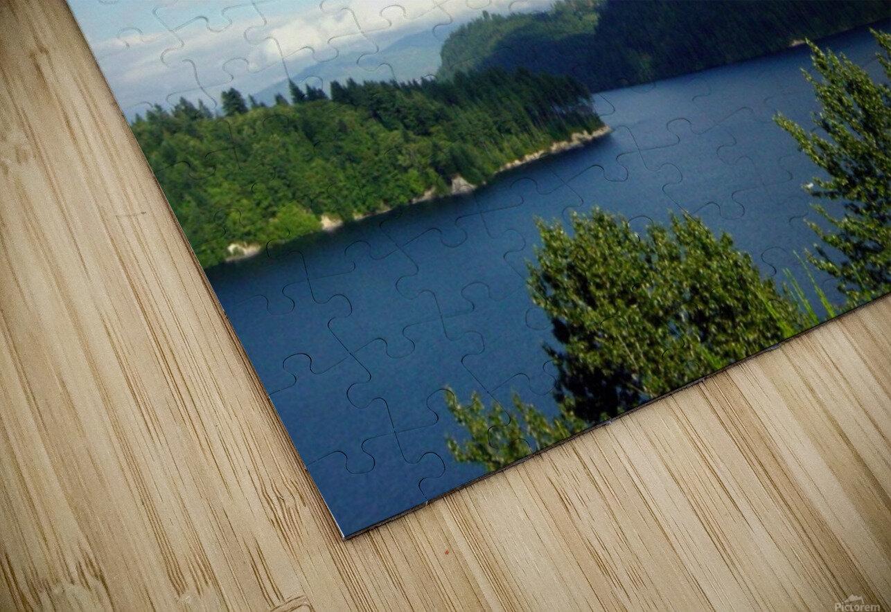 Pacific Northwest Splendor HD Sublimation Metal print