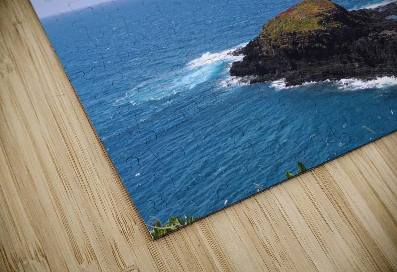 Secret Island HD Sublimation Metal print