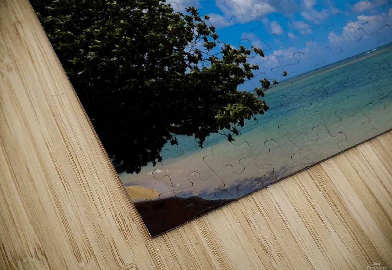Turquoise Waters & Blue Skies HD Sublimation Metal print